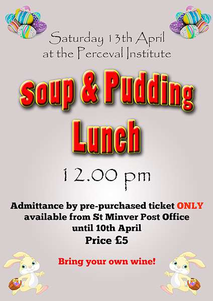 Soup & pudding 2019